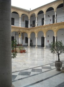 universidad osuna patio interior