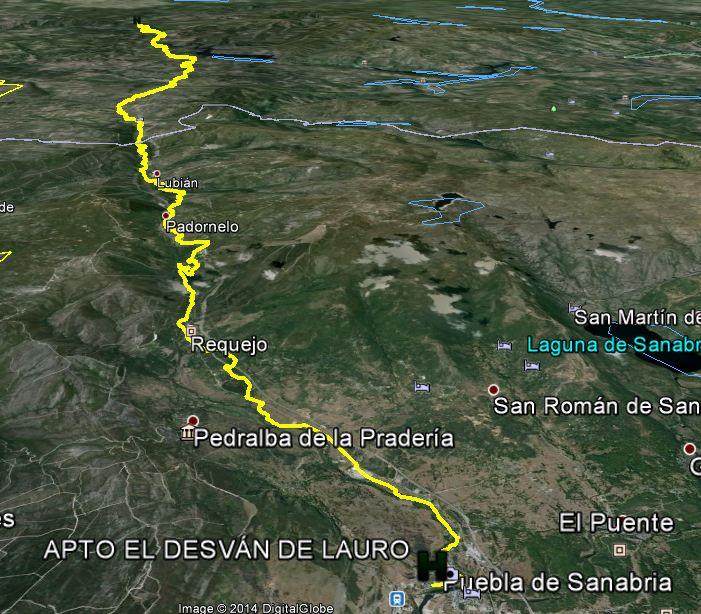 3ª ETAPA Puebla de Sanabria-Laza