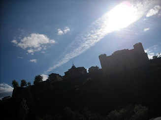 castillo puebla de sanabria - puebla de sanabria - camino sanabrés
