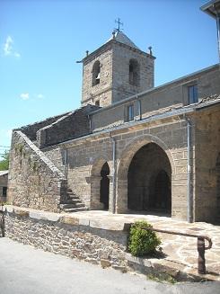 santiago de palazuelos - iglesia de santiago - camino sanabrés