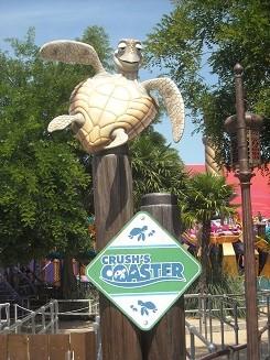 Nemo Crush's Coaster