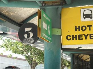 parada bus hotel cheyenne