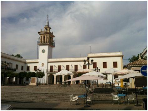 Plaza ayuntamiento Marchena