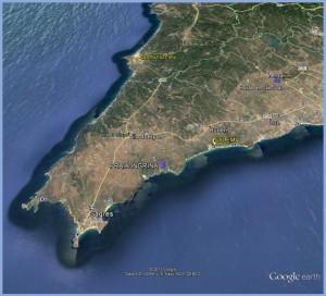 Localización Salema