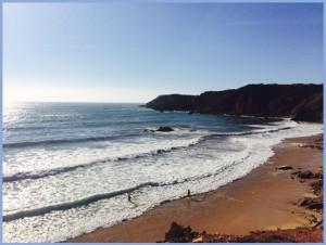 Olas en Playa de Carrapateira