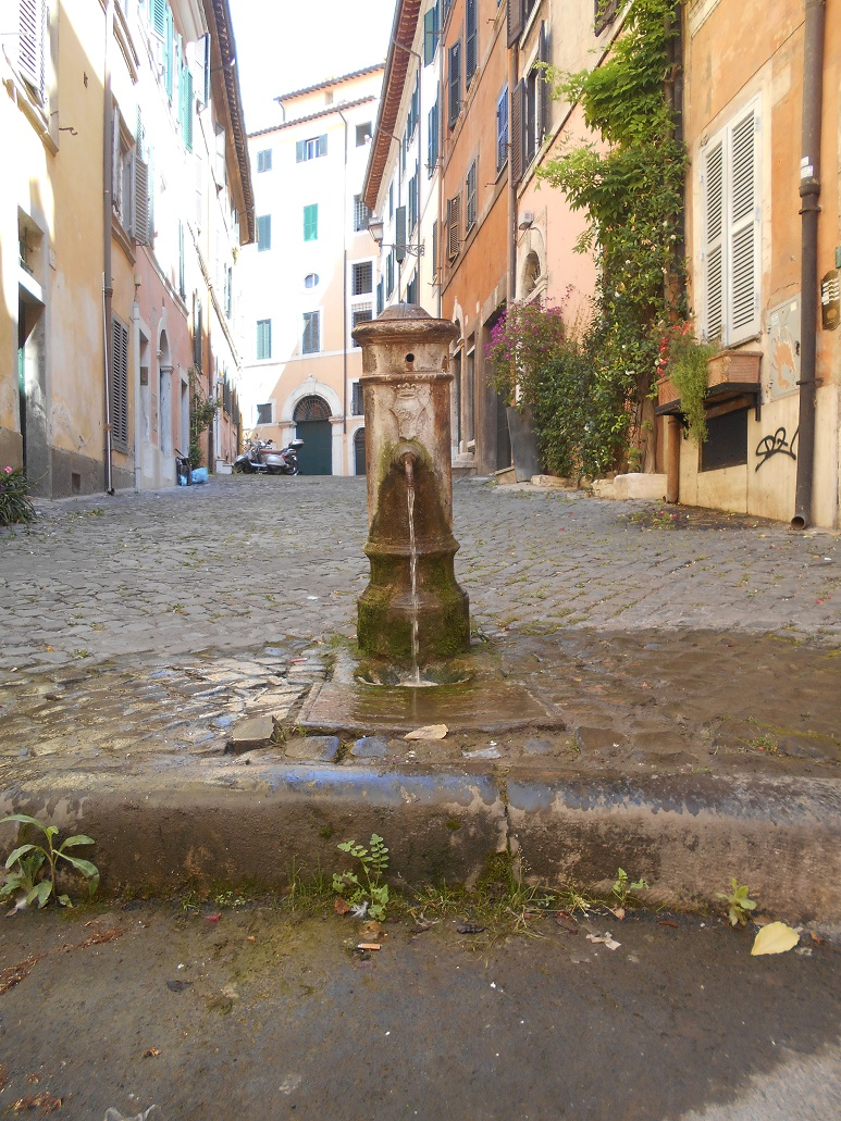 NASONE - FUENTE AGUA POTABLE - ROMA
