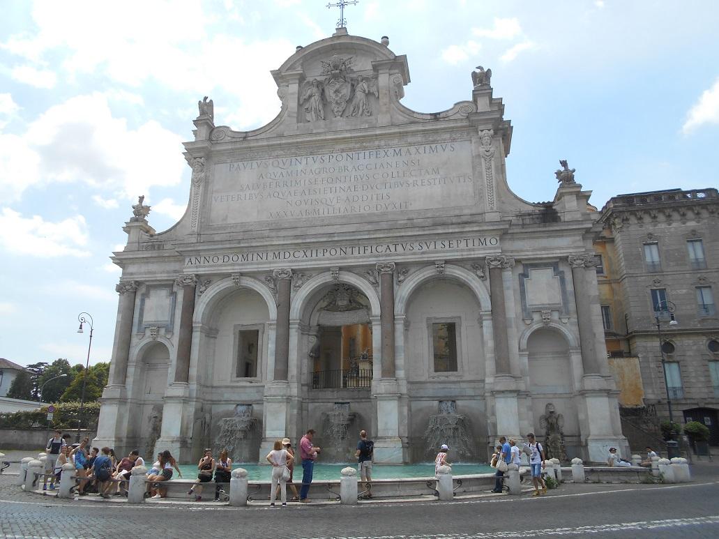 FUENTE PAOLA - ROMA