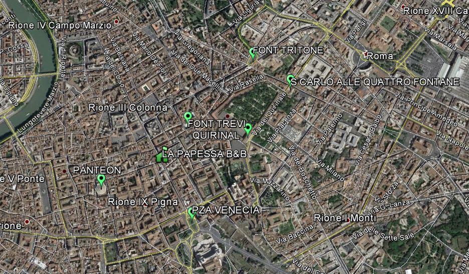 RUTA DÍA 1 ROMA