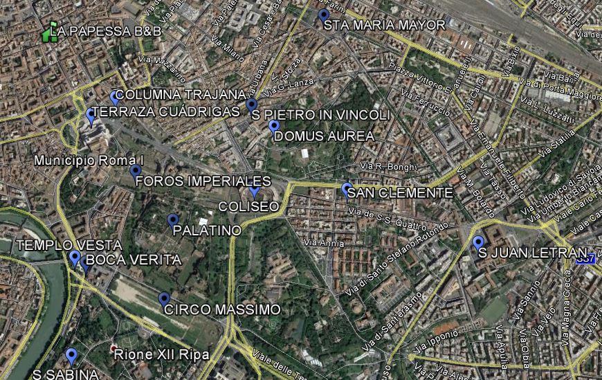 RUTA DÍA 4 ROMA
