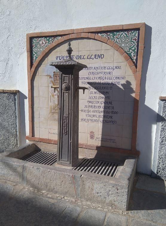 fuente del llano - Almonaster la Real