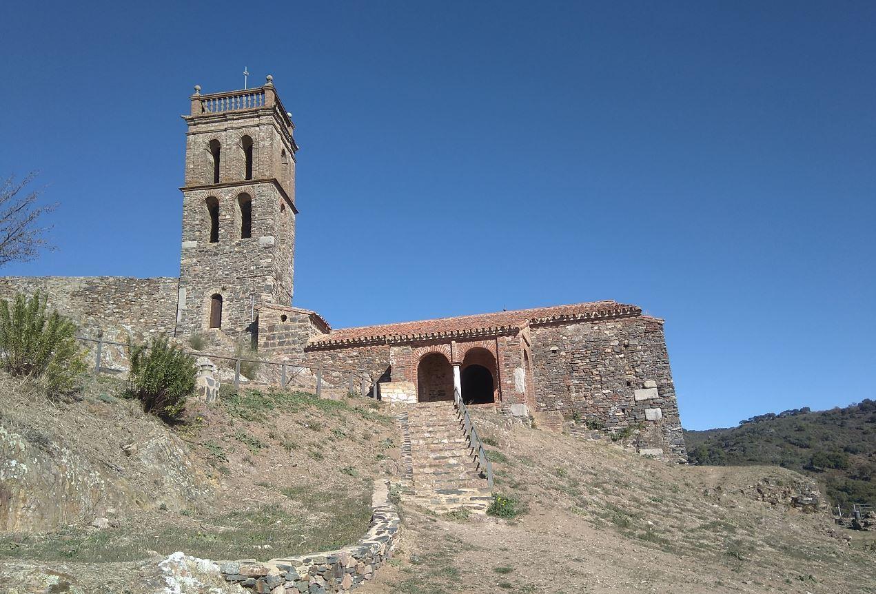 Mezquita y Alminar en Almonaster la Real