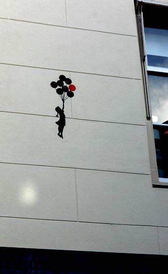 Niña globos - Banksy - Ámsterdam